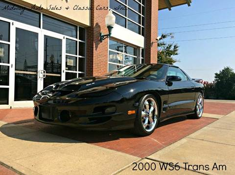 2000 Pontiac Firebird for sale at MIDWAY AUTO SALES & CLASSIC CARS INC in Fort Smith AR