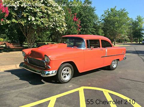 1955 Chevrolet 210 for sale at MIDWAY AUTO SALES & CLASSIC CARS INC in Fort Smith AR