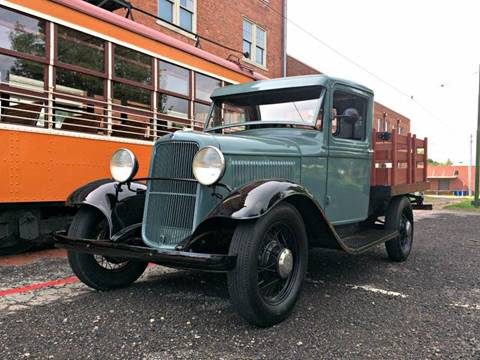 1933 Ford Model B for sale at MIDWAY AUTO SALES & CLASSIC CARS INC in Fort Smith AR
