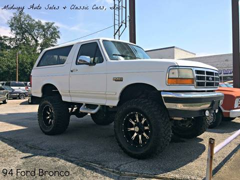 ford bronco for sale in fort smith ar midway auto sales classic cars inc ford bronco for sale in fort smith ar