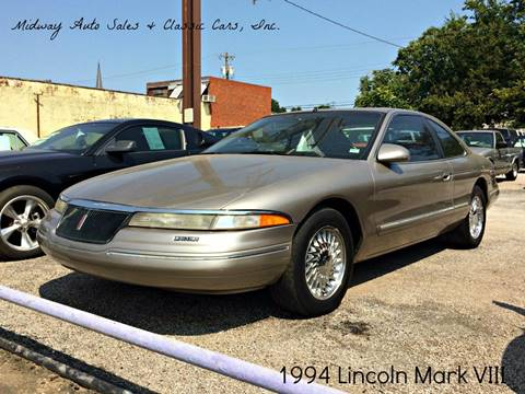 1994 Lincoln Mark VIII for sale in Fort Smith, AR