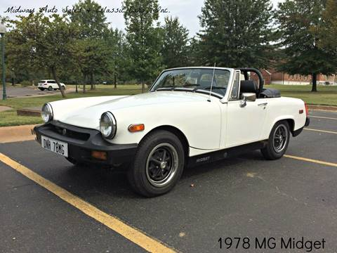 1978 MG Midget for sale at MIDWAY AUTO SALES & CLASSIC CARS INC in Fort Smith AR