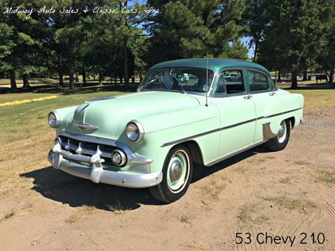 1953 Chevrolet 210 for sale at MIDWAY AUTO SALES & CLASSIC CARS INC in Fort Smith AR