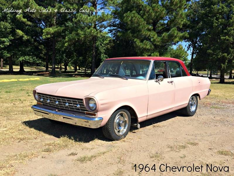 1964 Chevrolet Nova for sale at MIDWAY AUTO SALES & CLASSIC CARS INC in Fort Smith AR