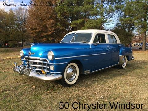 1950 Chrysler Windsor for sale at MIDWAY AUTO SALES & CLASSIC CARS INC in Fort Smith AR