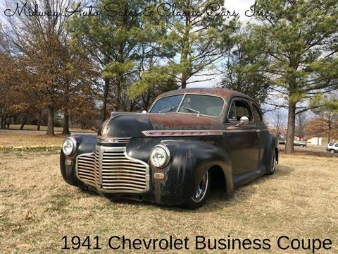 1941 Chevrolet Special Deluxe for sale at MIDWAY AUTO SALES & CLASSIC CARS INC in Fort Smith AR