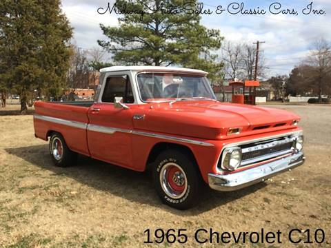 1965 Chevrolet C/K 10 Series for sale at MIDWAY AUTO SALES & CLASSIC CARS INC in Fort Smith AR