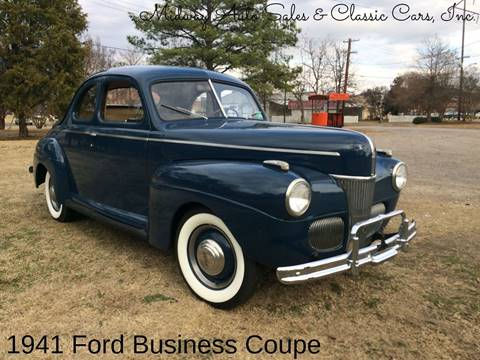 1941 Ford Super Deluxe for sale at MIDWAY AUTO SALES & CLASSIC CARS INC in Fort Smith AR