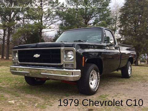 1979 Chevrolet C/K 10 Series for sale at MIDWAY AUTO SALES & CLASSIC CARS INC in Fort Smith AR