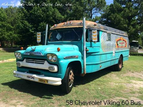 1958 Chevrolet Viking 60 for sale at MIDWAY AUTO SALES & CLASSIC CARS INC in Fort Smith AR