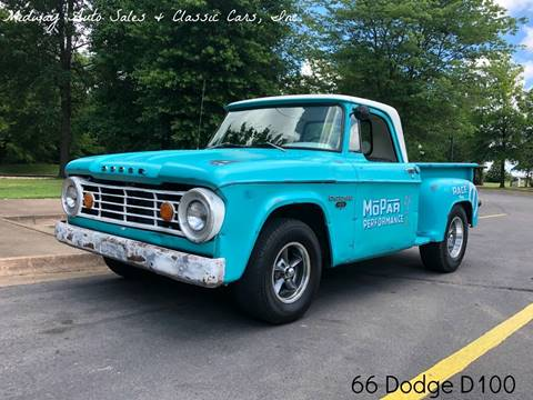 1966 Dodge D100 Pickup for sale in Fort Smith, AR