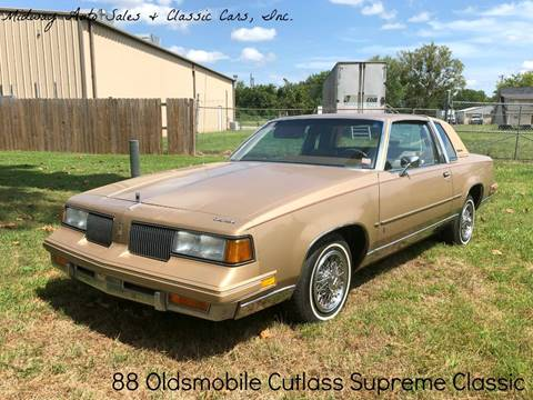 1988 Oldsmobile Cutlass Supreme for sale in Fort Smith, AR