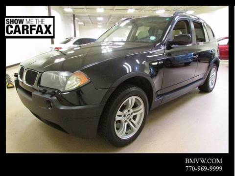2005 BMW X3 for sale in Union City, GA