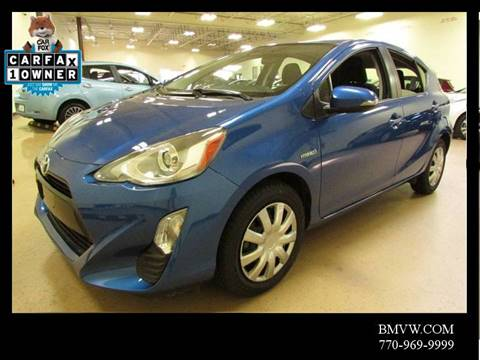 2016 Toyota Prius c for sale in Union City, GA