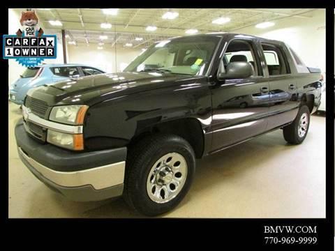 2004 Chevrolet Avalanche for sale in Union City, GA