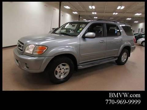 2002 Toyota Sequoia for sale in Union City, GA