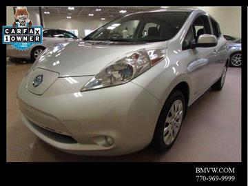 2014 Nissan LEAF for sale in Union City, GA