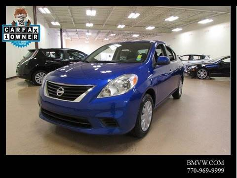 2012 Nissan Versa for sale in Union City, GA