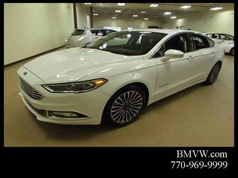 2017 Ford Fusion Hybrid for sale in Union City, GA