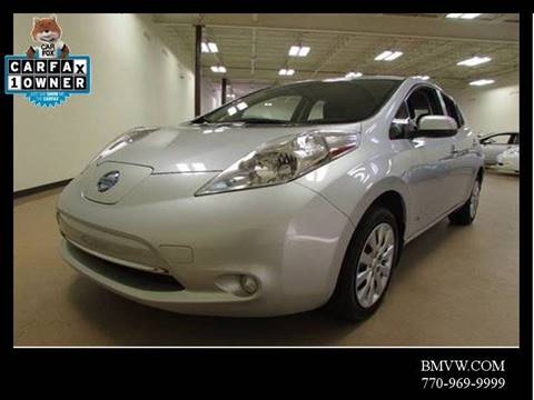 2015 Nissan LEAF for sale in Union City, GA