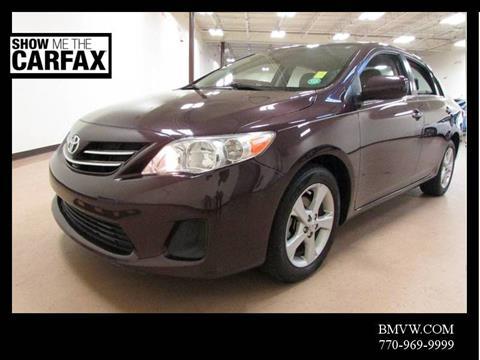 2013 Toyota Corolla for sale in Union City, GA