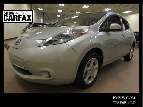 2012 Nissan LEAF for sale in Union City, GA