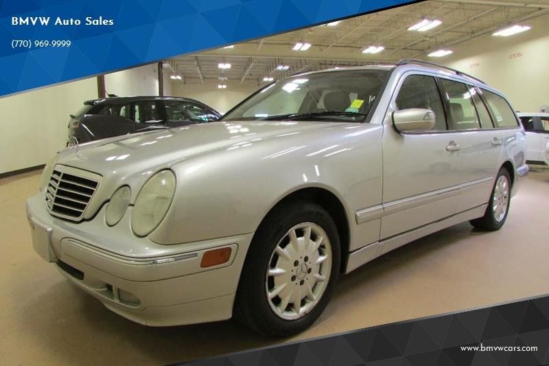 Mercedes-Benz E-Class 2002 E 320 4dr Wagon