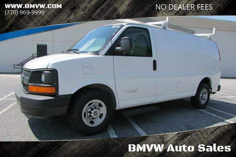 Chevrolet Express Cargo 2014 2500 3dr Cargo Van w/1WT