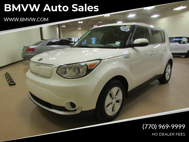 Kia Of Union City >> 2015 Kia Soul Ev Base 4dr Crossover In Union City Ga Bmvw Auto Sales