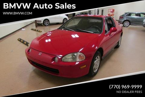 1993 Honda Civic del Sol for sale in Union City, GA