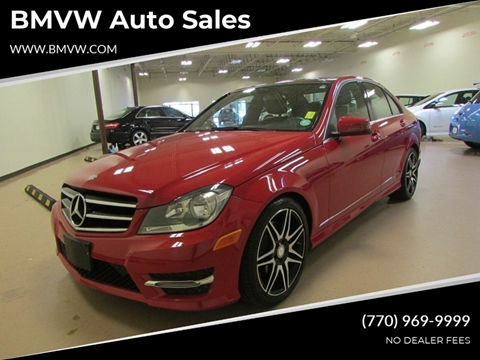 2013 Mercedes-Benz C-Class for sale in Union City, GA