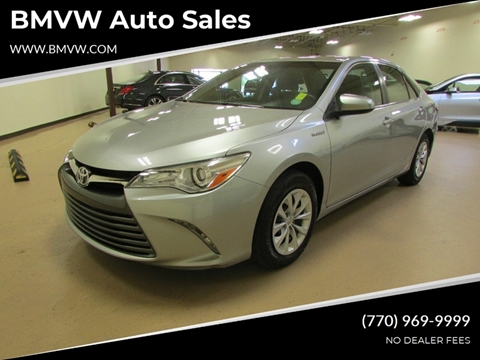 Toyota Of Union City >> 2015 Toyota Camry Hybrid For Sale In Union City Ga