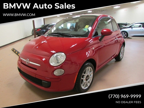 2012 FIAT 500c for sale in Union City, GA