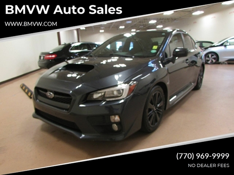2015 Subaru WRX for sale in Union City, GA