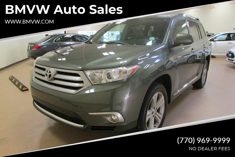 Toyota Of Union City >> 2013 Toyota Highlander Limited 4dr Suv In Union City Ga