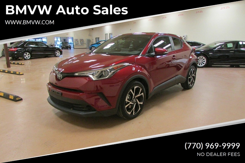 Toyota Union City >> 2019 Toyota C Hr Limited 4dr Crossover In Union City Ga