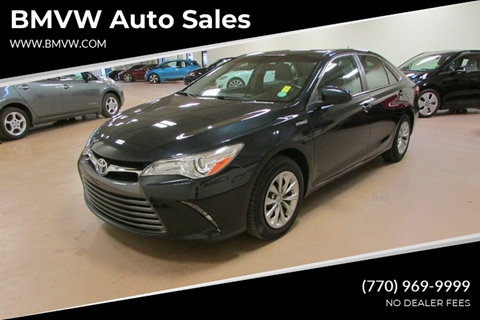 2017 Toyota Camry Hybrid for sale at BMVW Auto Sales - Hybrids in Union City GA