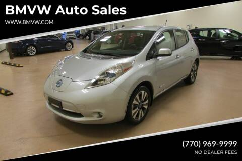 2013 Nissan LEAF for sale at BMVW Auto Sales - Electric Vehicles in Union City GA
