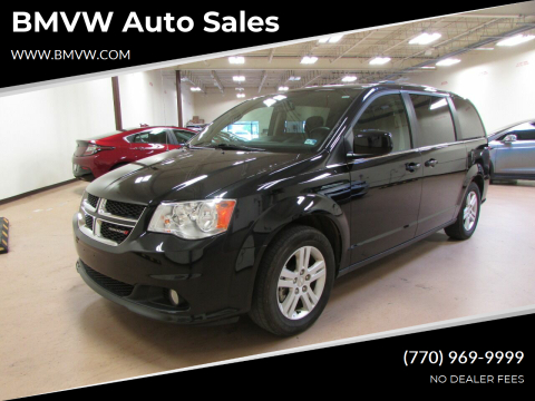 2019 Dodge Grand Caravan for sale at BMVW Auto Sales in Union City GA