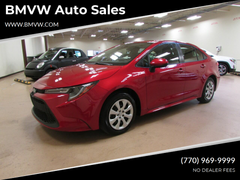 2020 Toyota Corolla for sale at BMVW Auto Sales in Union City GA
