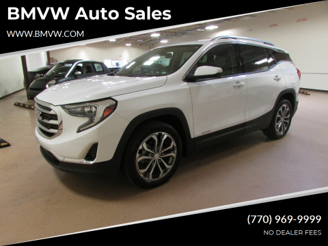 2020 GMC Terrain for sale at BMVW Auto Sales in Union City GA