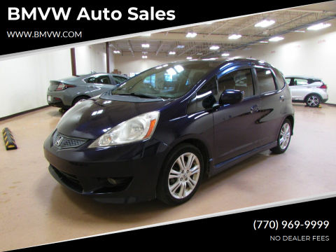 2009 Honda Fit for sale at BMVW Auto Sales in Union City GA