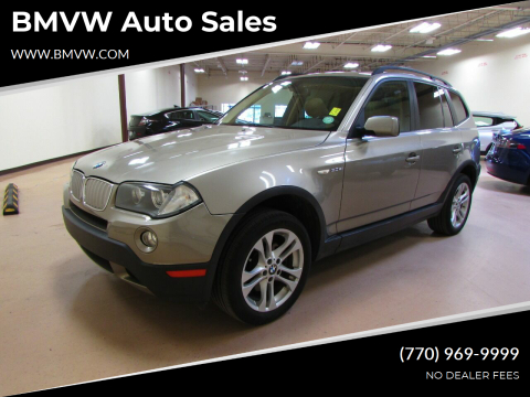 2007 BMW X3 for sale at BMVW Auto Sales in Union City GA