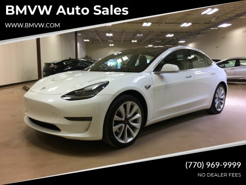 2018 Tesla Model 3 for sale at BMVW Auto Sales - Electric Vehicles in Union City GA