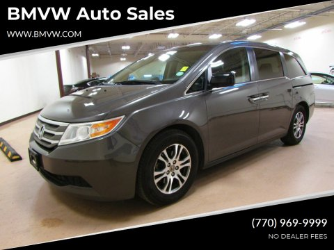2012 Honda Odyssey for sale at BMVW Auto Sales in Union City GA