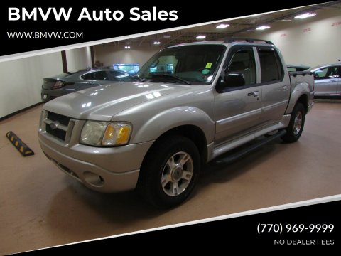 2004 Ford Explorer Sport Trac for sale at BMVW Auto Sales - Trucks and Vans in Union City GA