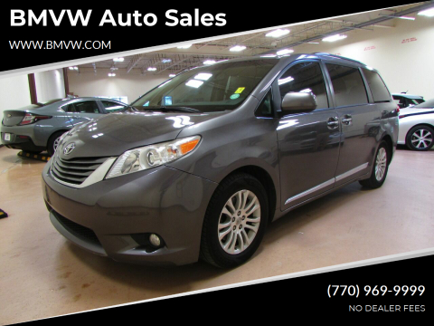 2014 Toyota Sienna for sale at BMVW Auto Sales in Union City GA