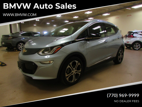 2017 Chevrolet Bolt EV for sale at BMVW Auto Sales - Electric Vehicles in Union City GA