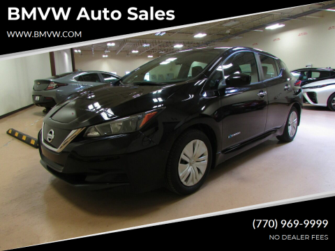 2019 Nissan LEAF for sale at BMVW Auto Sales - Electric Vehicles in Union City GA