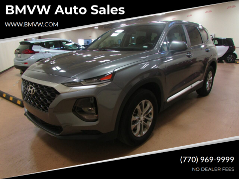 2019 Hyundai Santa Fe for sale at BMVW Auto Sales in Union City GA